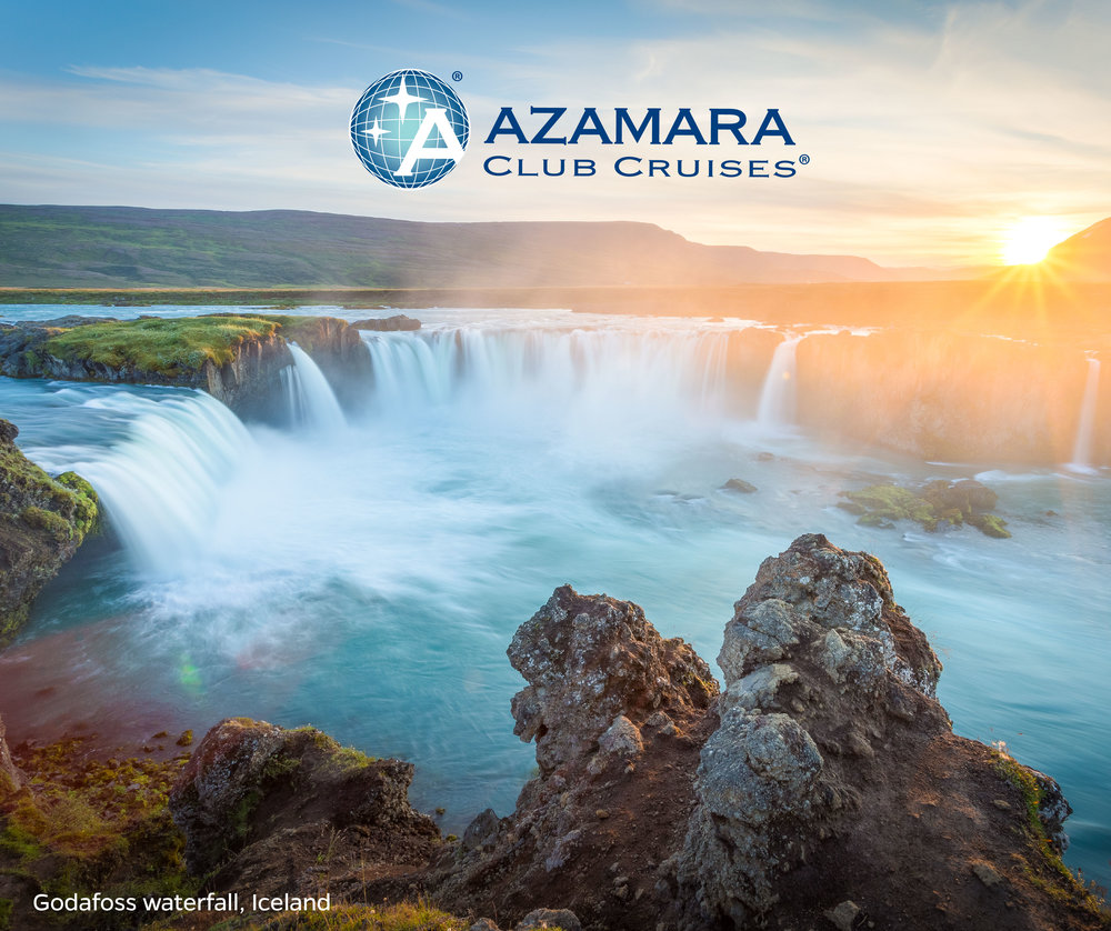 Witness the Waterfall of the Gods. Climb inside a volcano. Uncover the natural wonders of the Golden Circle. Discover Iceland  #AzaLocal  with Azamara Pursuit.