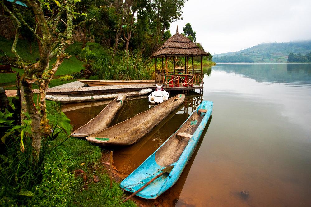 Lake Bunyonyi, Uganda, Africa