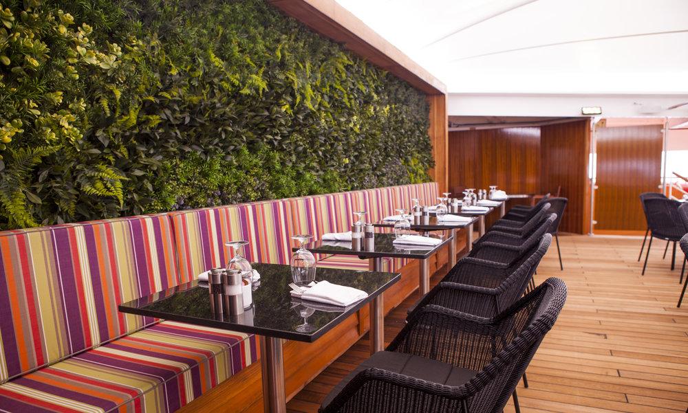 Veranda restaurant on Star Breeze