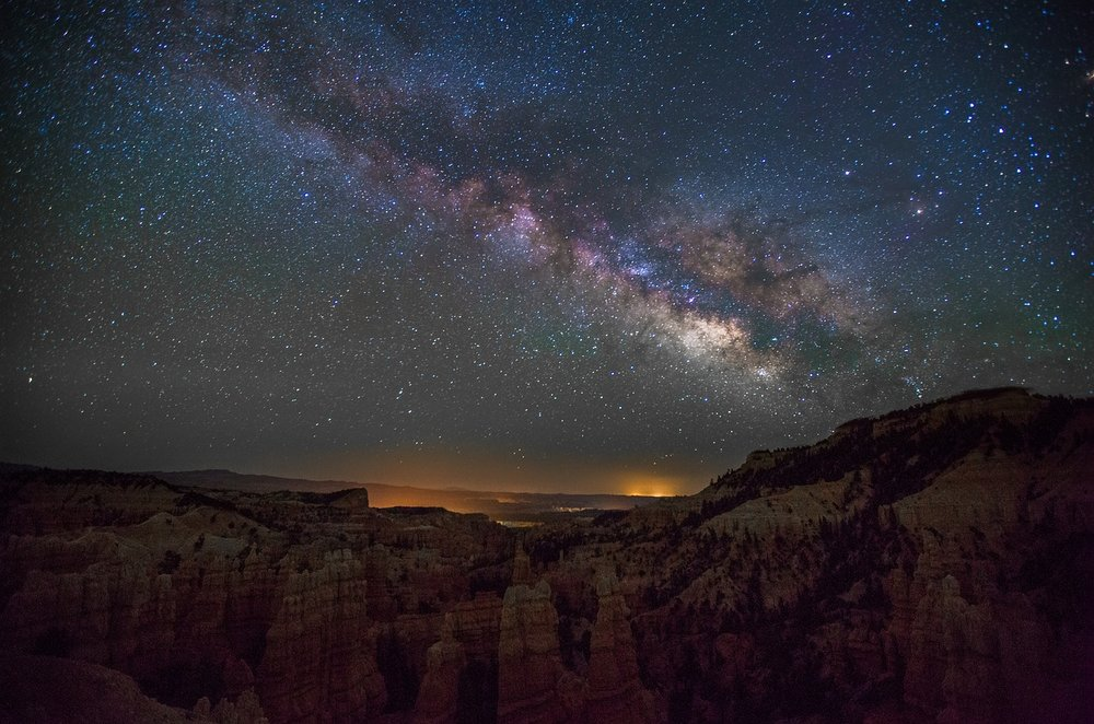 Milky Way, Fairylnd Canyon Park, Utah