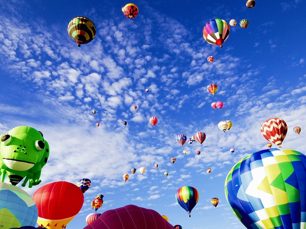 Baloon Festival, Albequerce, New Mexico