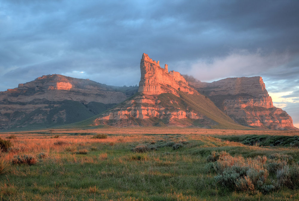 Eagle Rock, Scotts Bluff National Monument, Nebraska