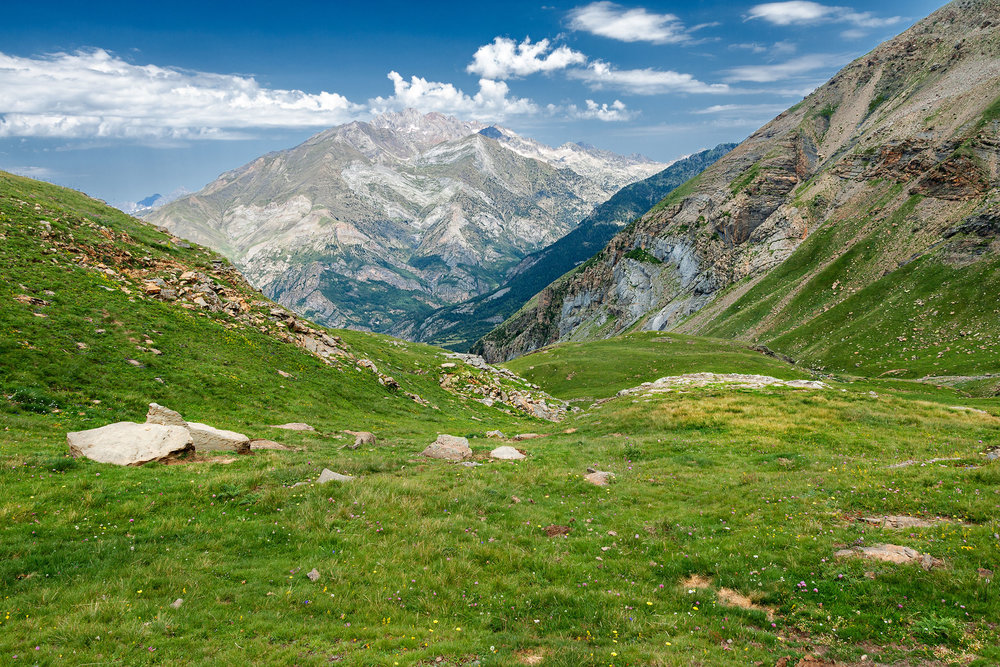 High Mountains in Panticosa, Spanish Pyrenees