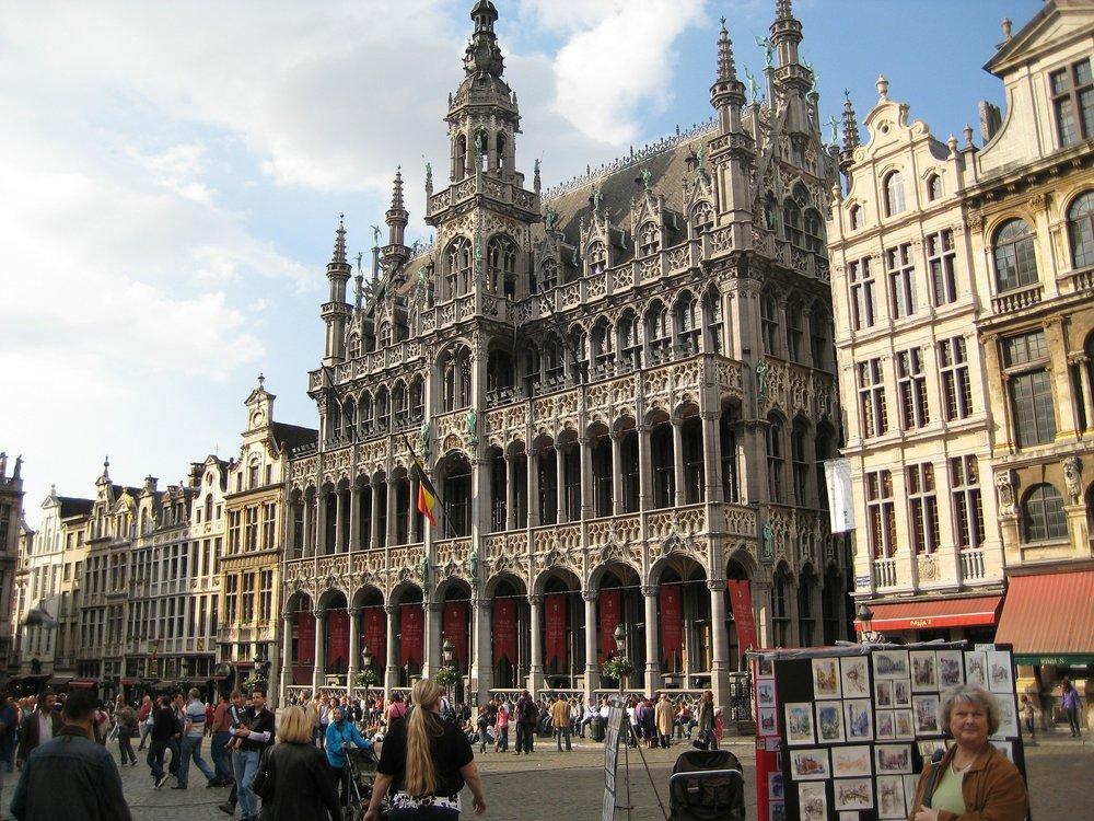 City Center, Brussels, Belgium