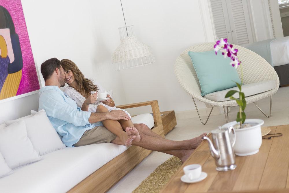 Oasis Spa Villa Living Room