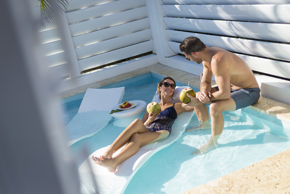 Oasis Spa Villa Plunge Pool