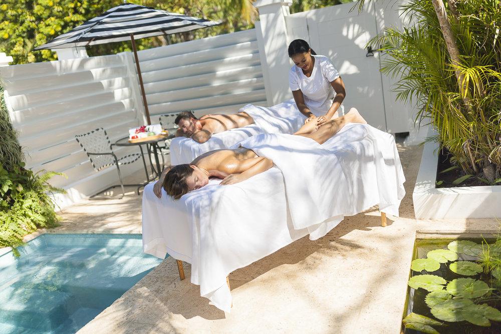 Villa Outdoor Treatment