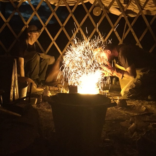 Night Casting in the Umha Aois yurt