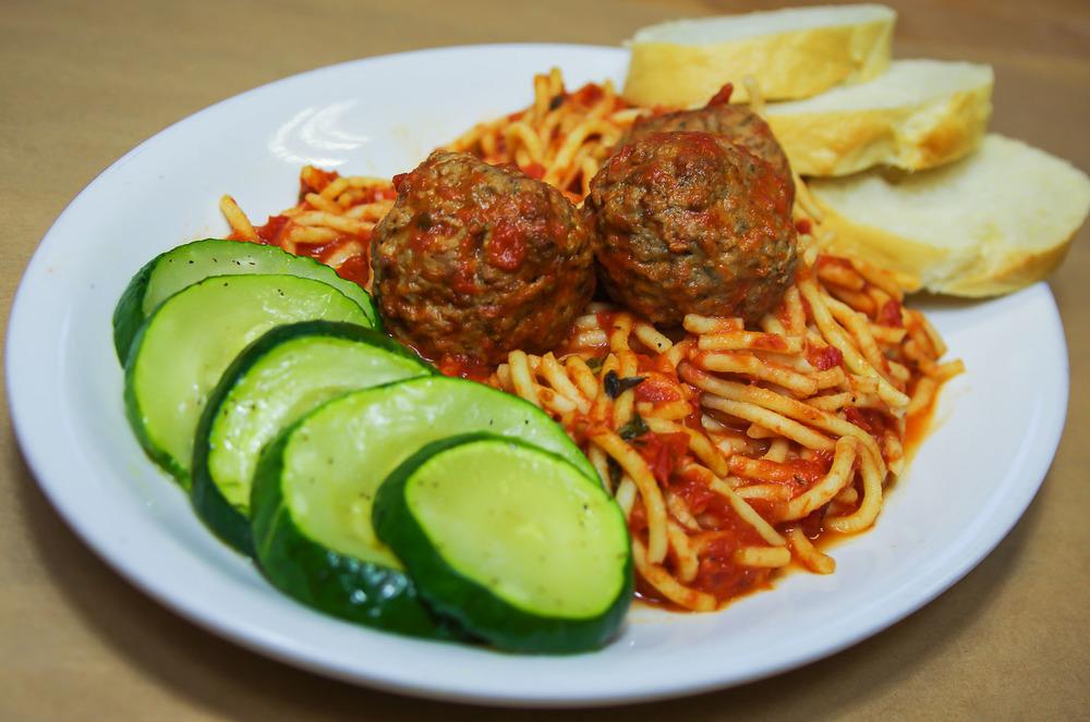 Monday Spaghetti & Meatball