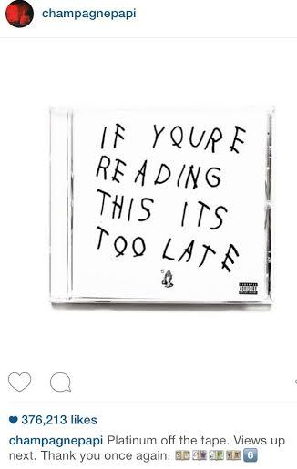 Source: Drake Instagram