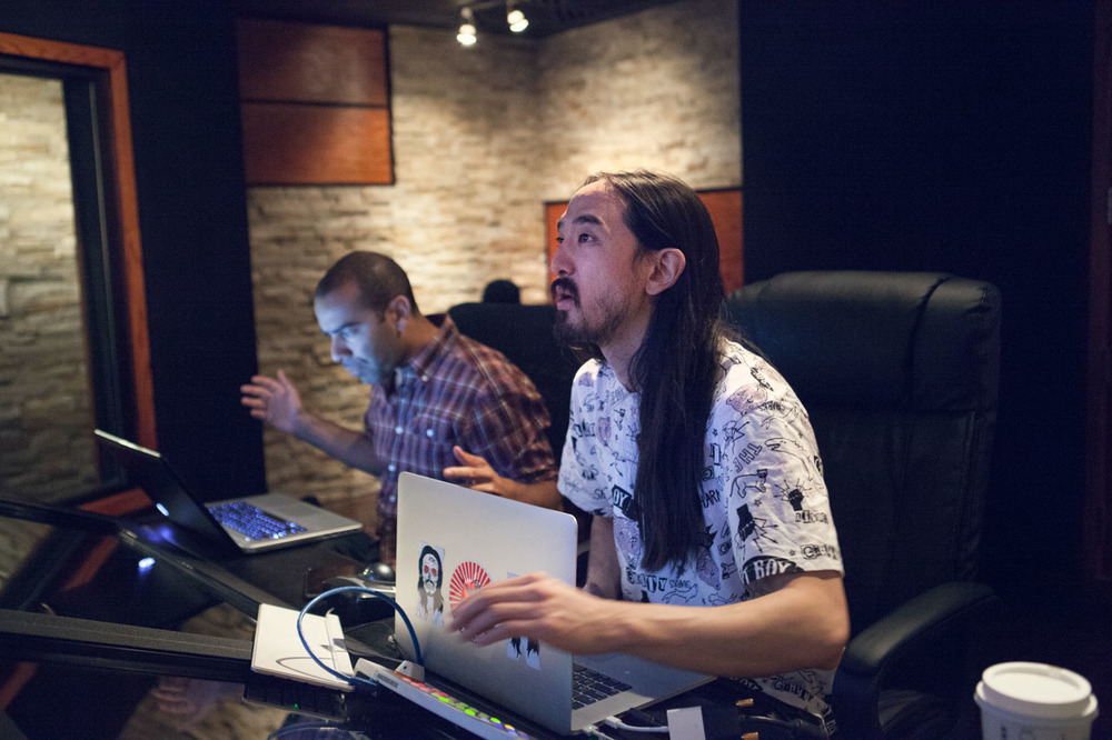 36 hours with DJ and producer Steve Aoki -- from Las Vegas to New York. Shot for  Billboard.