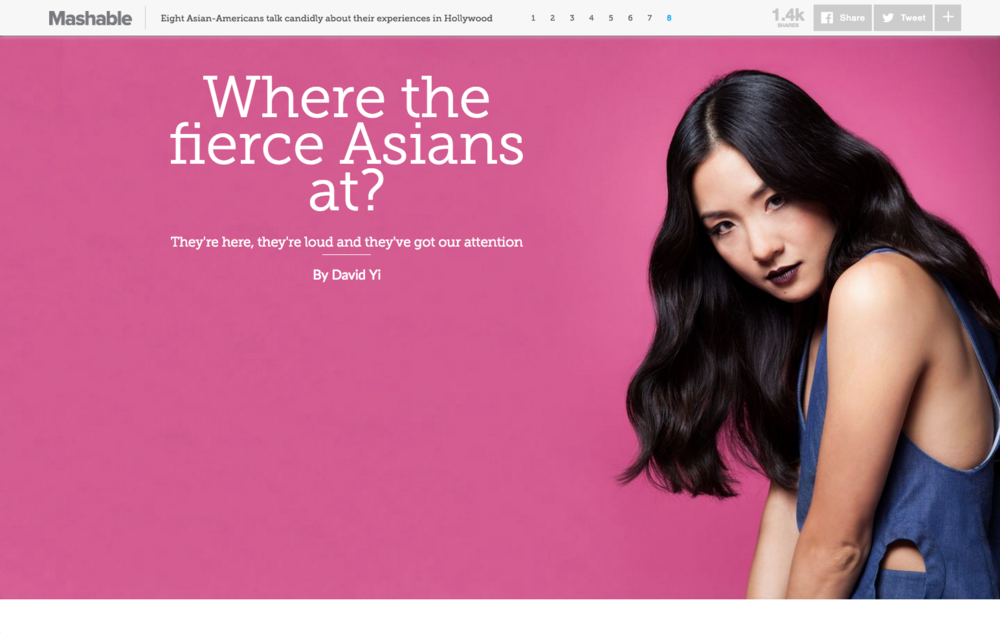 Asian Americans in Hollywood for Mashable