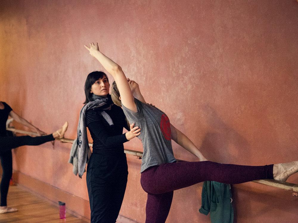 Sarah Kruger, Ballet Instructor/Dancer
