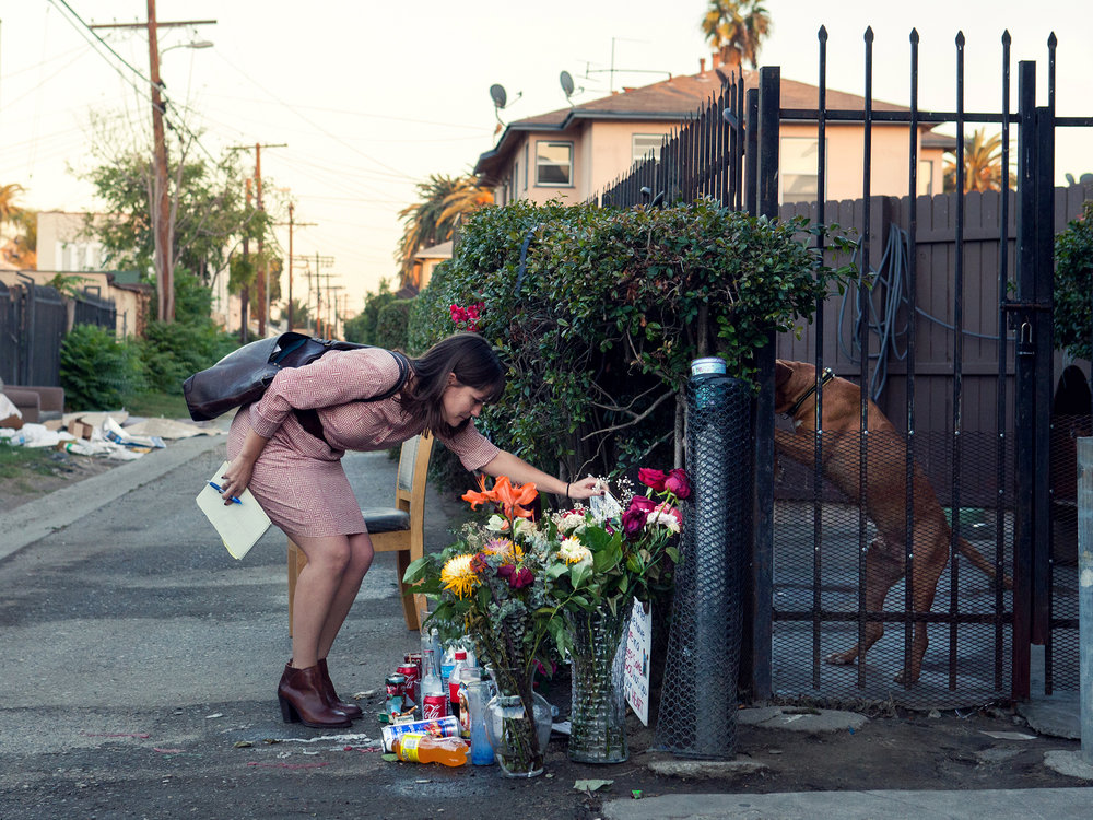 Nicole Santa Cruz, LA Times Homicide Reporter/Pilates Instructor