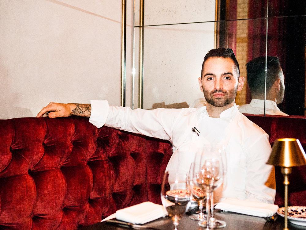 Mario Carbone, Chef