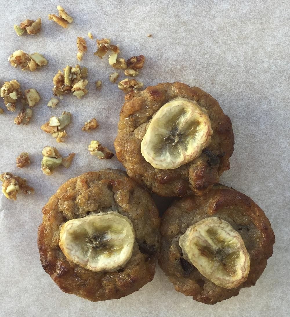 Banana & Date Muffins