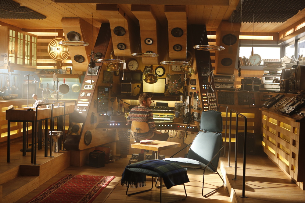 This extraordinary sound station was designed by Maurice himself