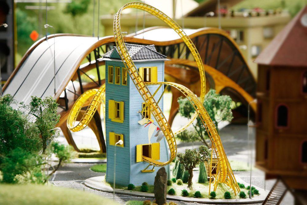 Roller Coaster House