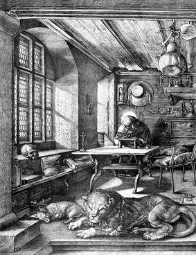 St. Jerome in His Study- Albrecht Dürer. 1514