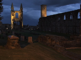 St. Andrews Cathedral - Scotland.  (C) Hynek Moravec - 2005