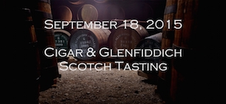 9-18-15 Expert Cigar and Scotch Tasting