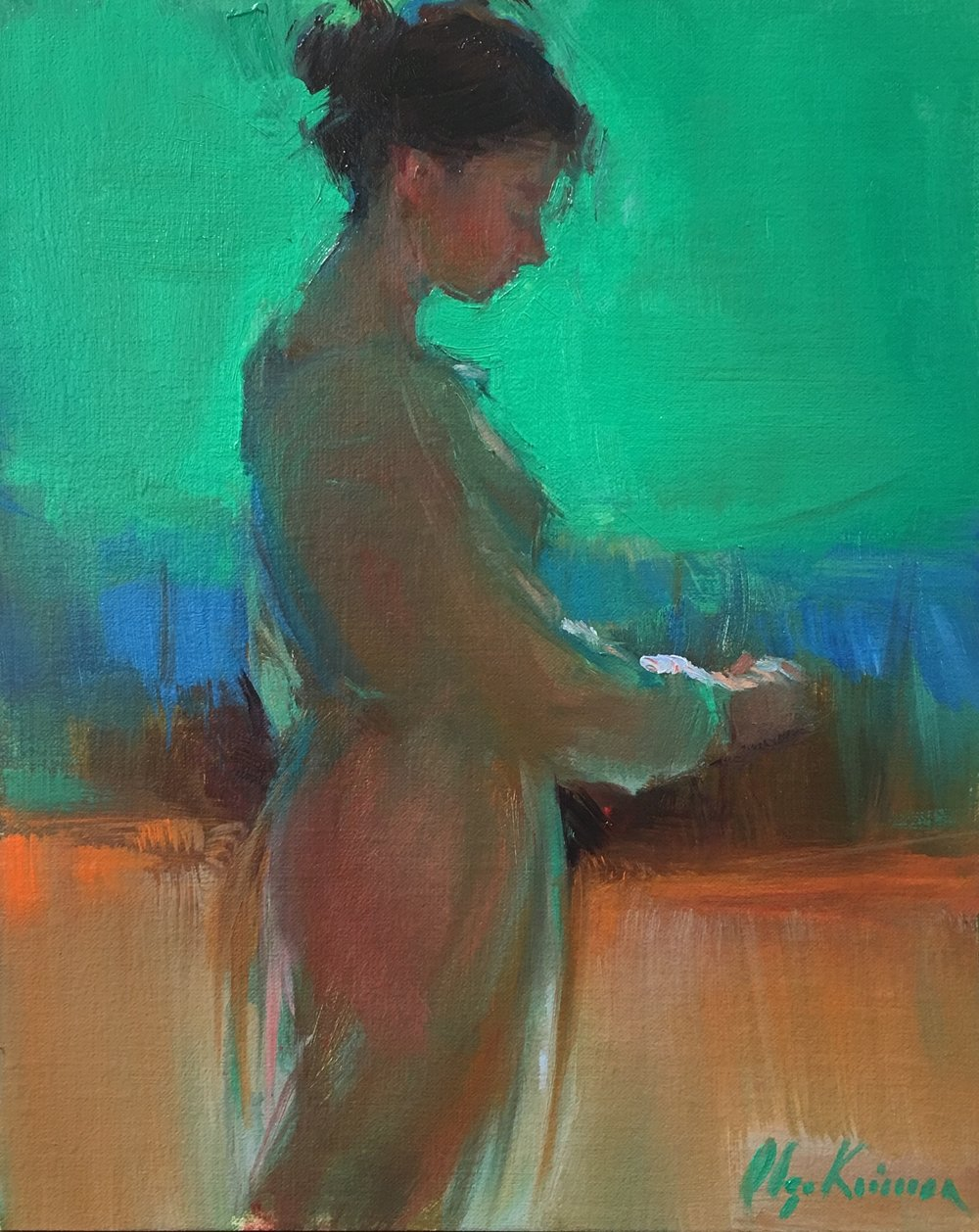 Glow - oil, 8x10Available through Vanessa Rothe Fine Art