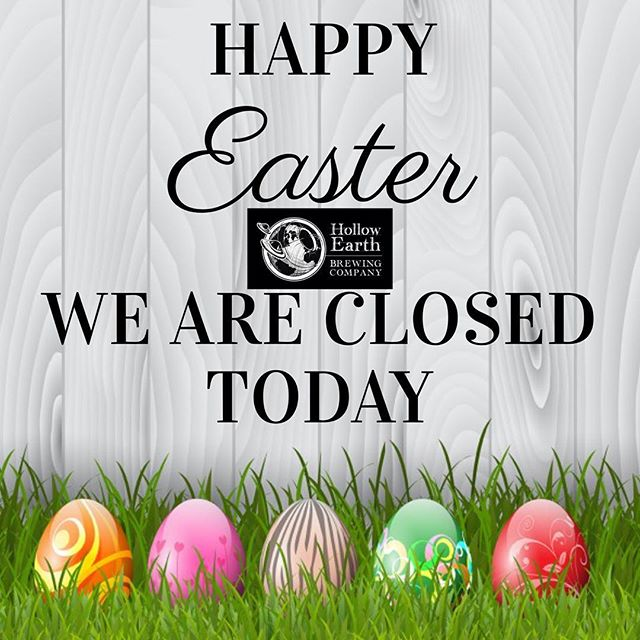 Please enjoy your time today with family and friends. Happy Easter 🐰