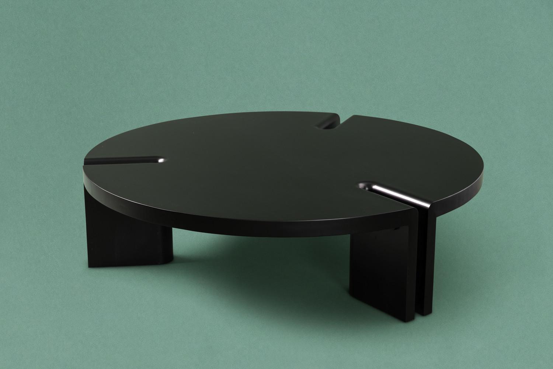 round coffee table, 2015 — fred ganim