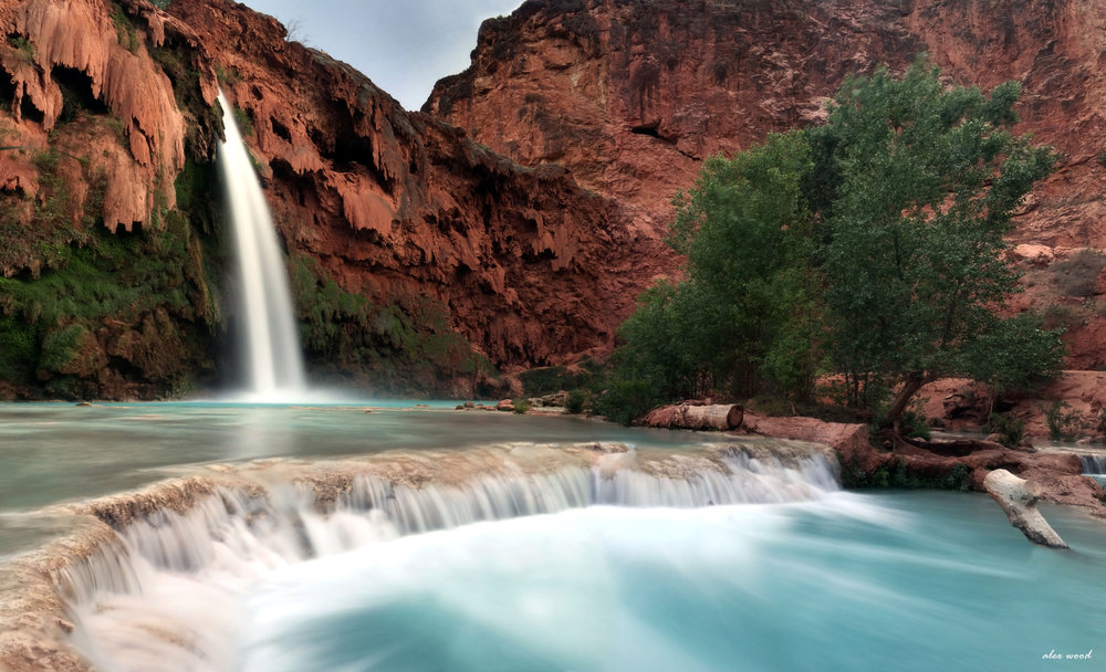 Evening at Havasu Falls, Grand Canyon, Arizona