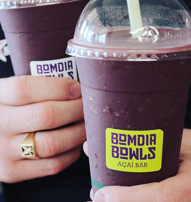 Packed with flavour and an abundance of nutrients, our açaí smoothies treat your tastebuds and your body 👅💜🍇