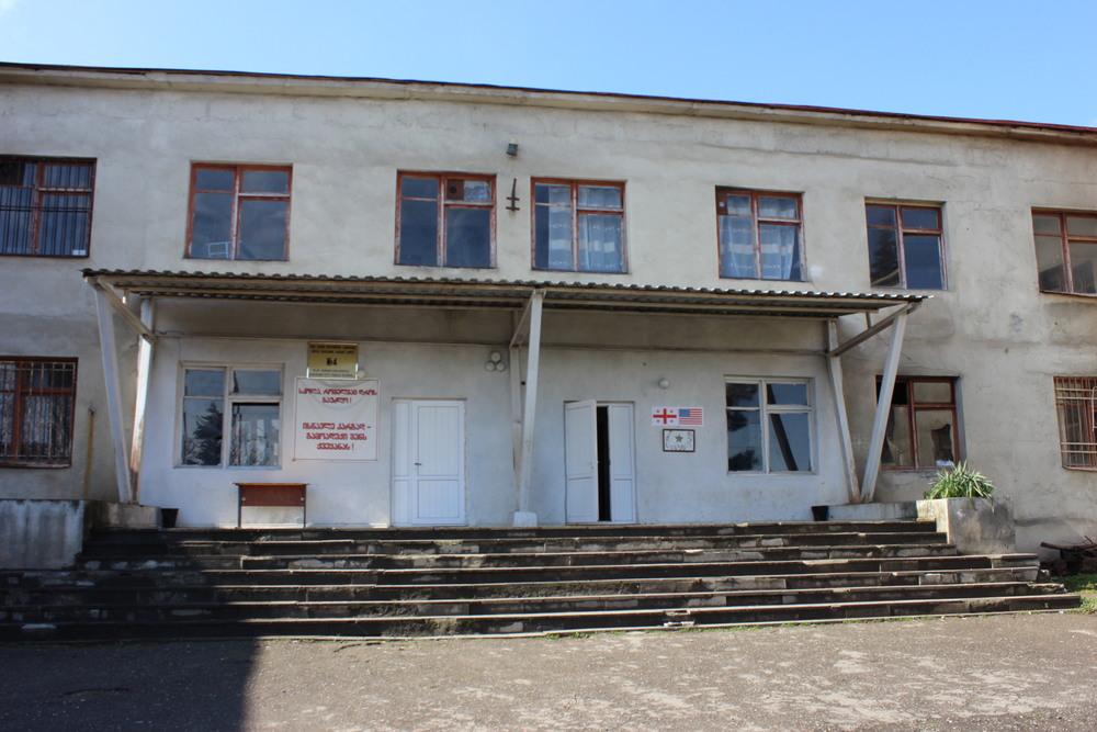 School No. 4 in Gurjaani, Georgia