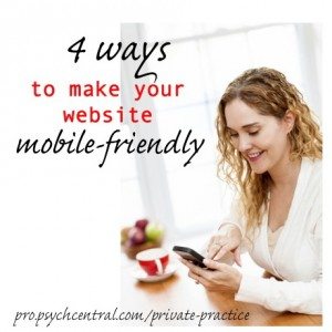4 ways to make your website mobile friendly - Private Practice Toolbox
