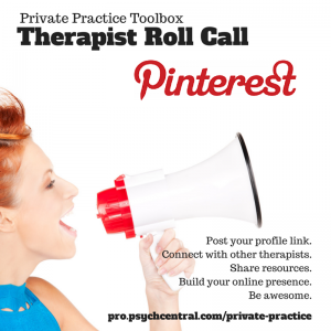 Therapist Roll Call Pinterest