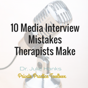 10 media interview mistakes