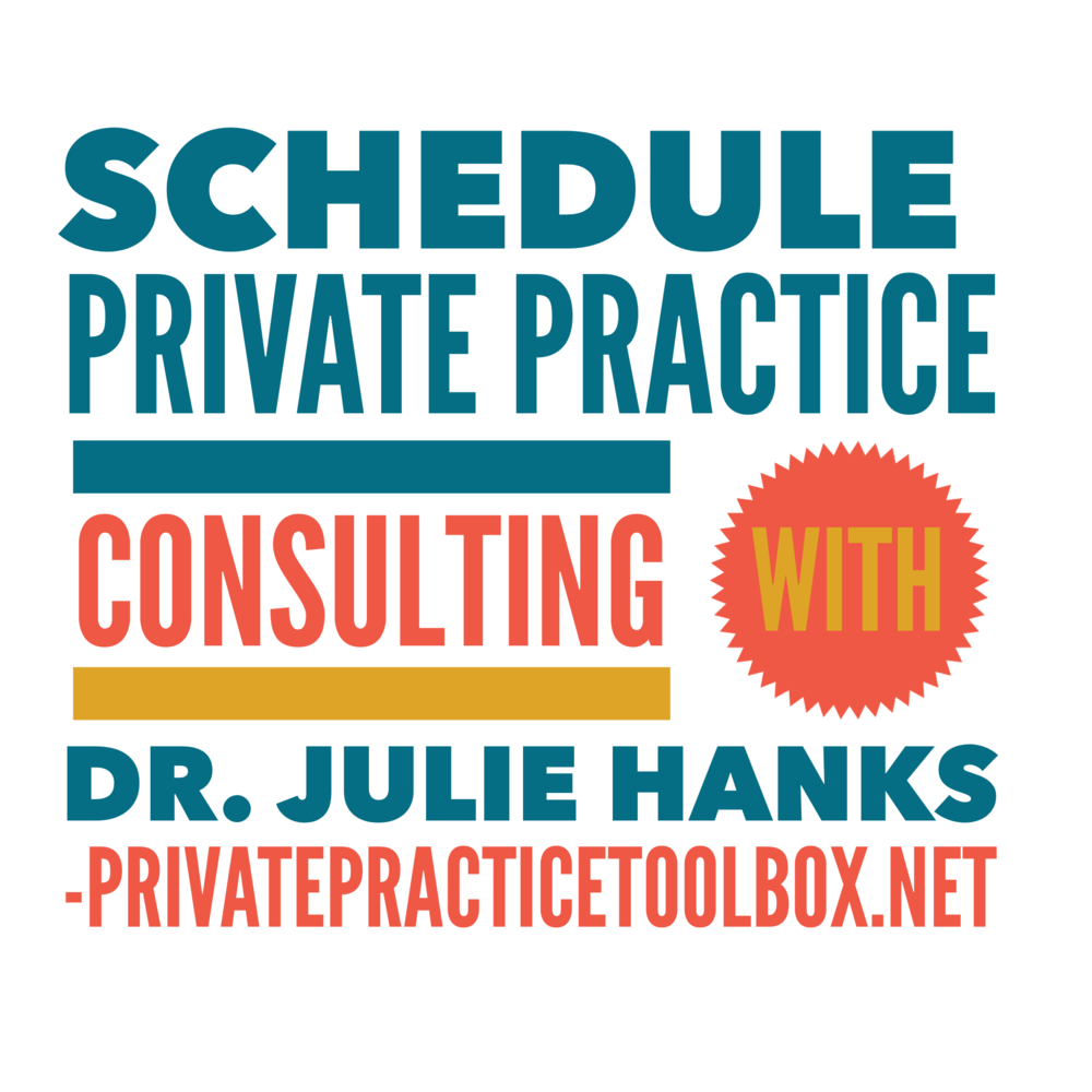 private practice consulting with Dr. Julie Hanks