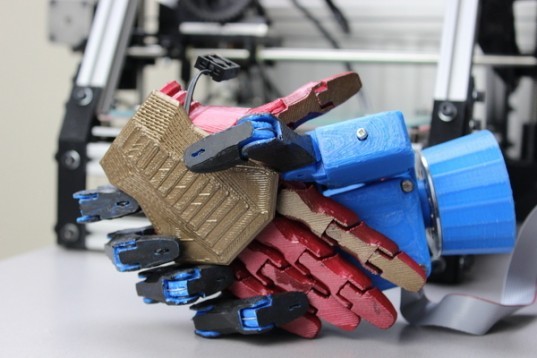 3d printing robotic hand