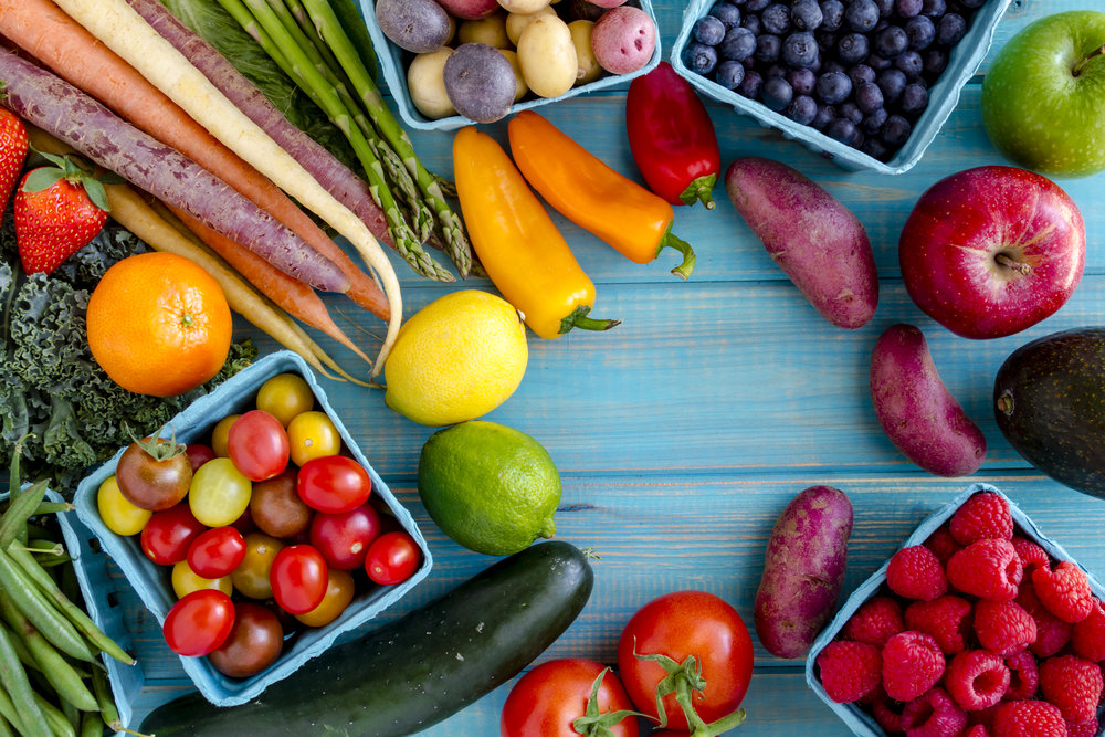Longer Lives Through More Fruits and Veggies