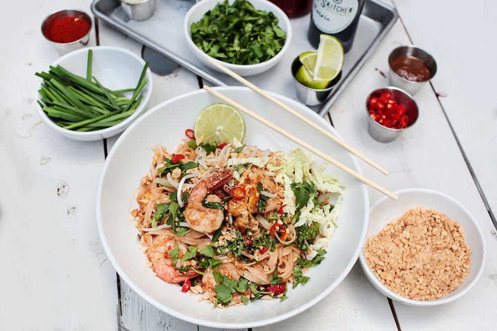 Vuis Kitchen Shrimp Pad Thai