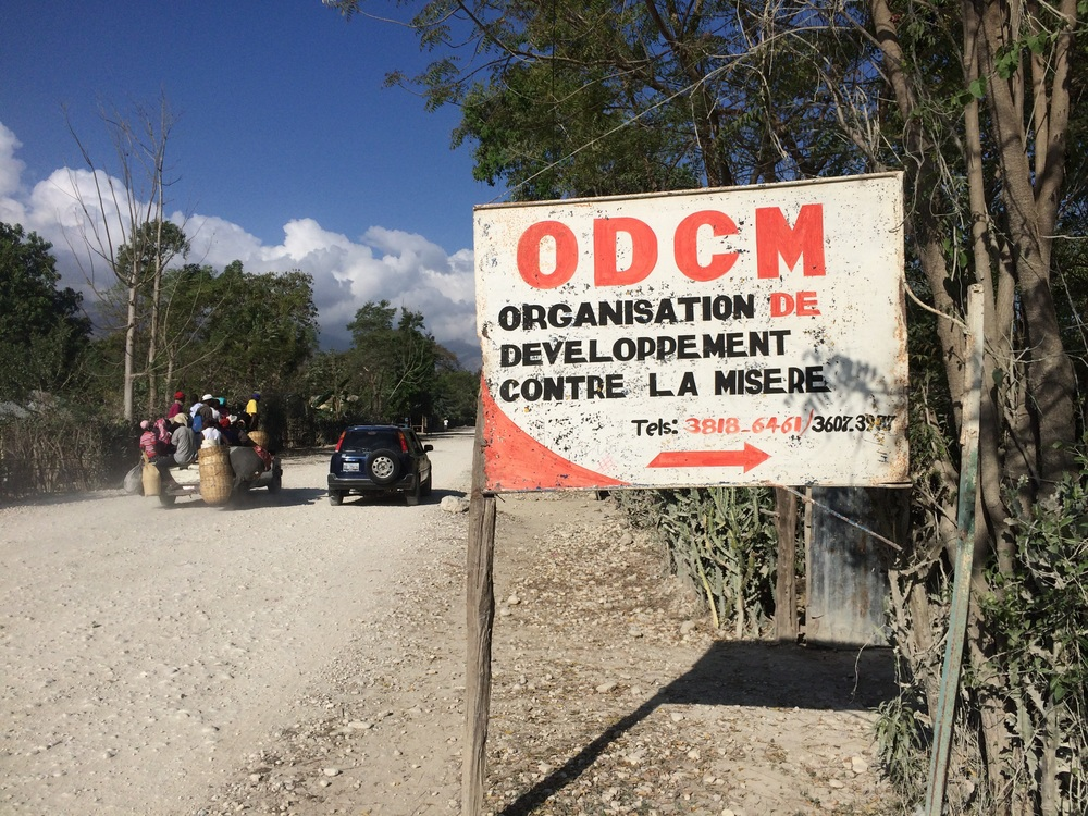 Training this week was held at a communuty center called the Organization of  Development Against Misery.