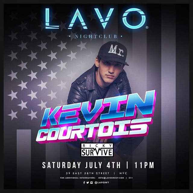 Kevin Courtois LAVO Nightclub NYC