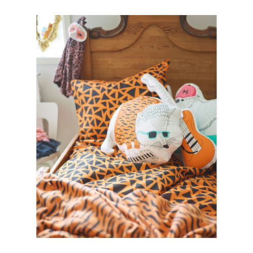Duvet Cover and Pillowcase Set - just $19.99. Adorable throw pillows for $7.99 and $8.99 each.