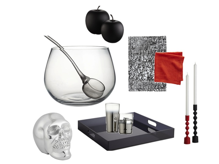 Shop the look on  CB2.com  and store these versatile pieces for your next party!