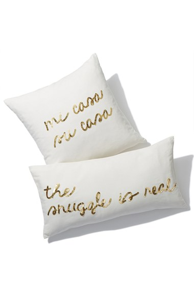 """Mi Case, Su Casa"" Pillows $39+"
