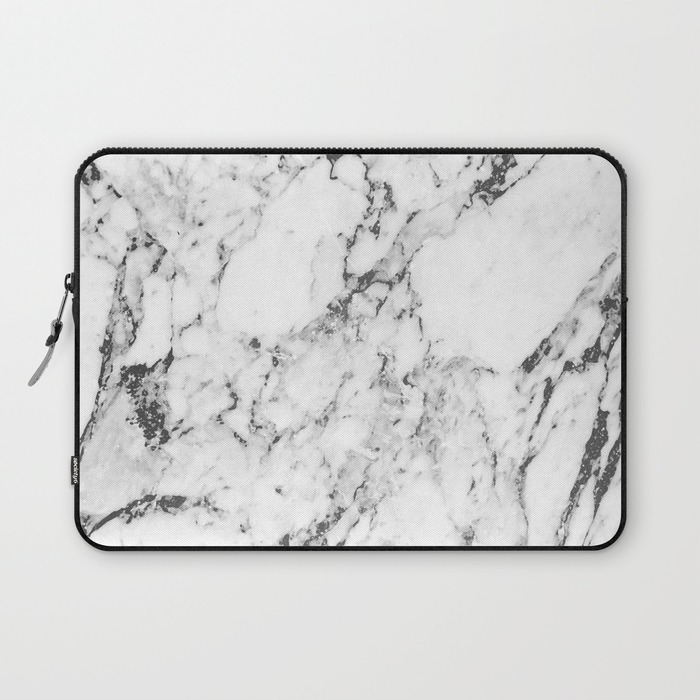 "13"" Marble Laptop Sleeve - $36"