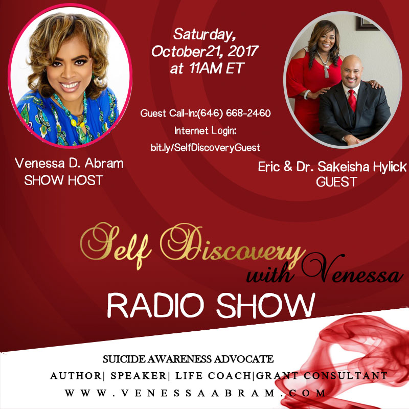 Click below  - Eric & Dr. Sakeisha Hylick as they are interviewed by show host Venessa Abram.