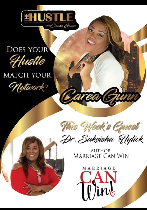 Recorded Live Dr. Sakeisha and Carea Gunn on the Hustle. - Click below to listen Recorded on 3/14/18
