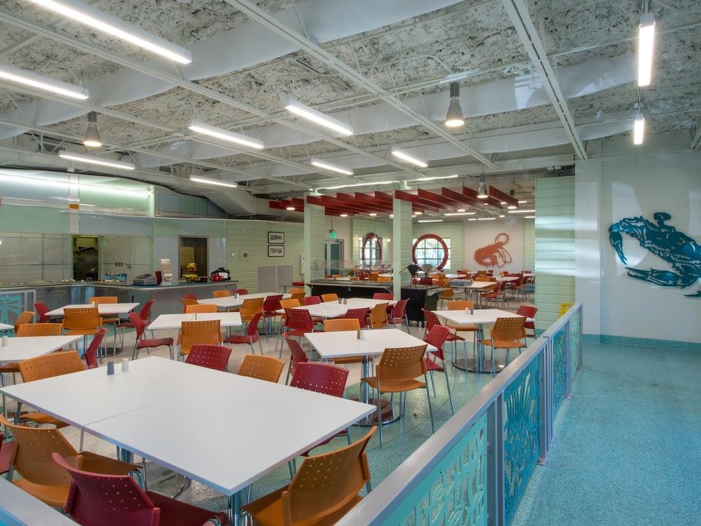 dauphin island sea lab cafeteria