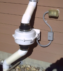 Drain Tile Mitigation system installed in Littleton Colorado