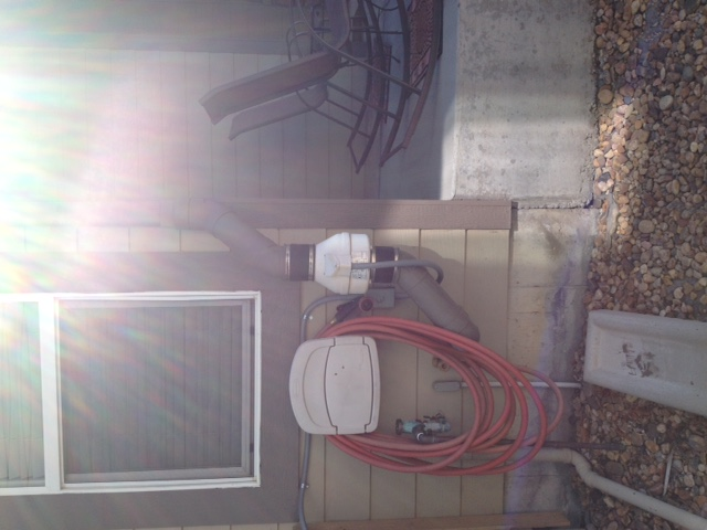 Denver Metro Porch with Radon Mitigation System