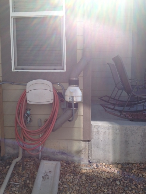Radon removal system installed  in Denver, Colorado